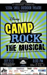 SCERA - Camp Rock - Poster
