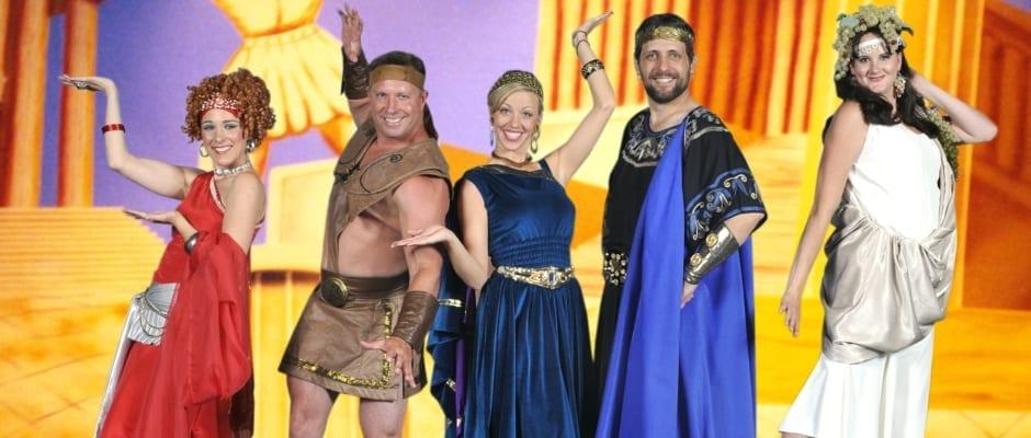 HUNK-CULES: A Greek . . . comedy?