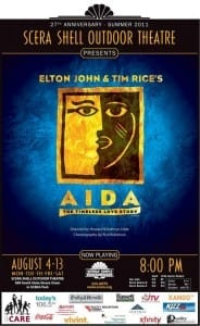 SCERA - Aida - Poster