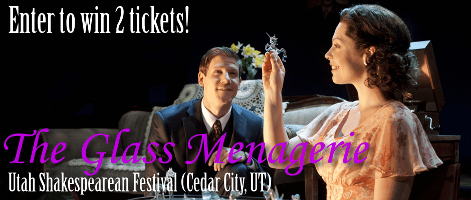 Win 2 tickets to the Utah Shakespeare Festival