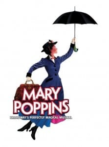 Broadway Across America - Mary Poppins - Poster