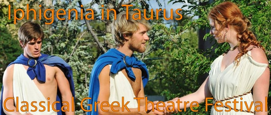 IPHIGENIA IN TAURIS is educational, though not entertaining