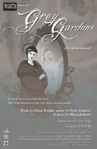 Wasatch Theatre Company - Grey Gardens - Poster