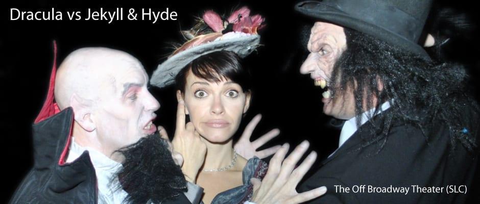 DRACULA VS JEKYLL & HYDE: A spooktacular evening of comedy