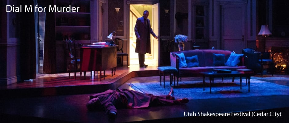 After slow start, DIAL M FOR MURDER packs the suspense
