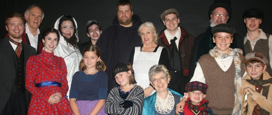 A simple and sweet CHRISTMAS CAROL in Springville