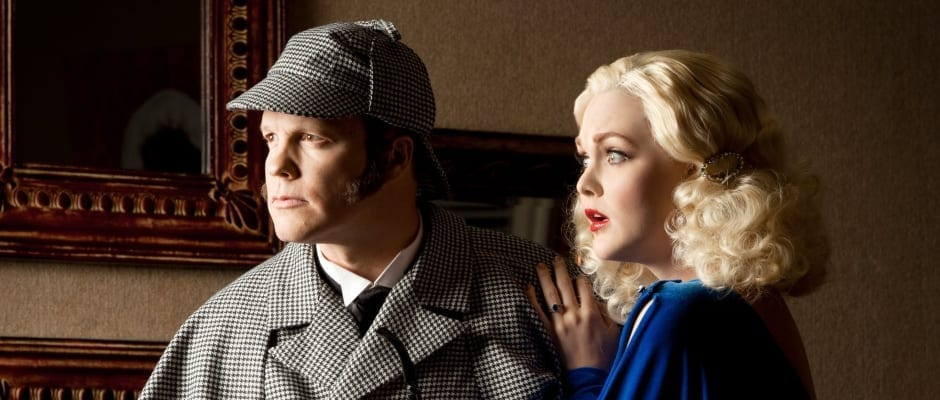 Hale's THE GAME'S AFOOT: Oh, what a difference a script makes
