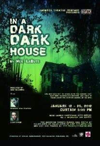 Wasatch Theatre Company - Dark Dark House - Poster