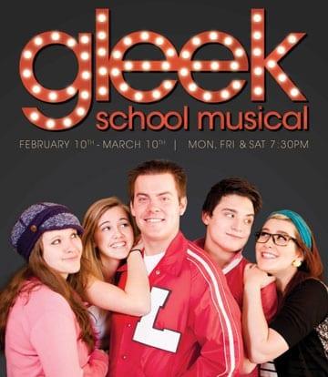 GLEEK SCHOOL MUSICAL is a better parody than it is a musical
