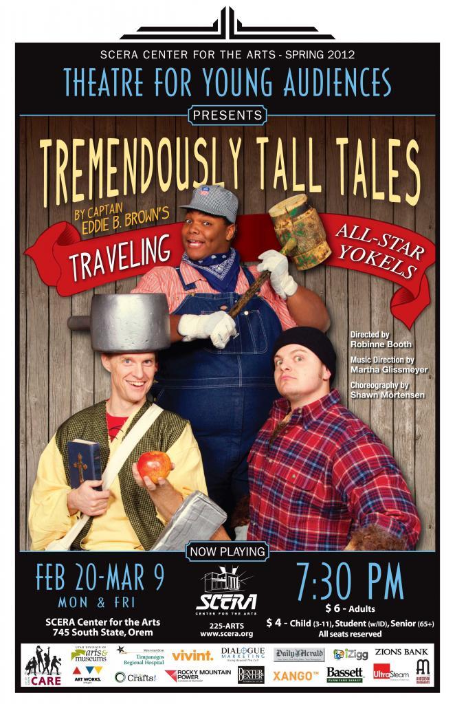 TREMENDOUSLY TALL TALES: Tall tales, low humor