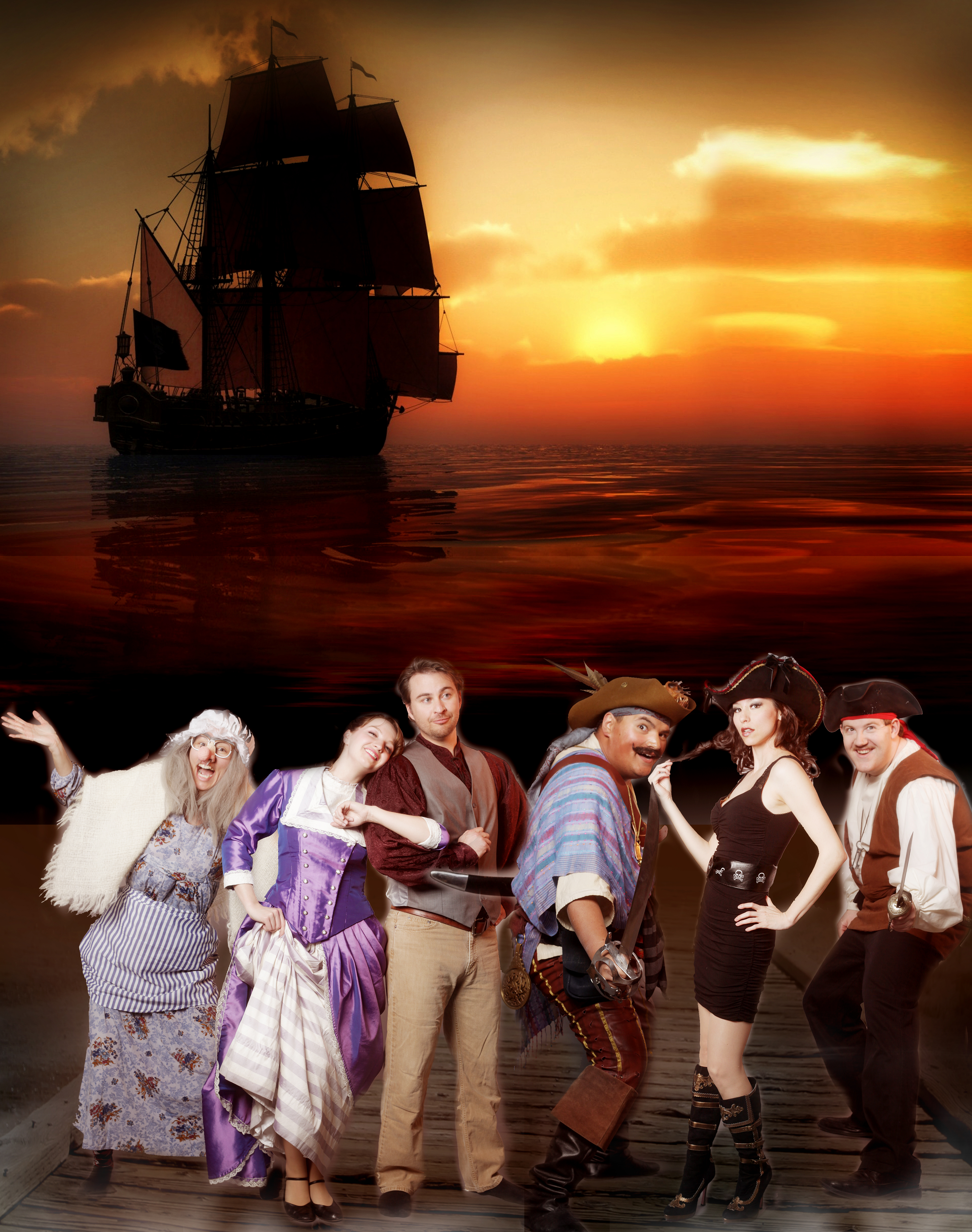 PIRATES! OF PENZANCE? is the very model of a modern dinner theater