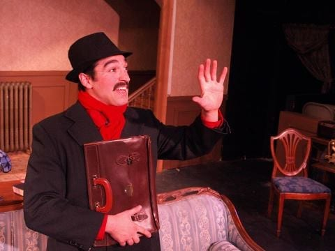 Lehi's THE MOUSETRAP is delightfully suspensful