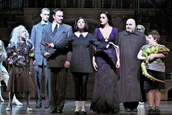 Feel at home with THE ADDAMS FAMILY