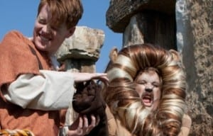 ANDROCLES AND THE LION is a sweet, endearing evening