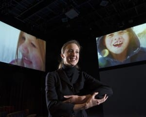 A woman (Amber Richardson) tells the story of her losing her hearing and of finding joy in being a mother.