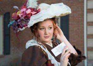 Melissa Swingle as Dolly Levi.