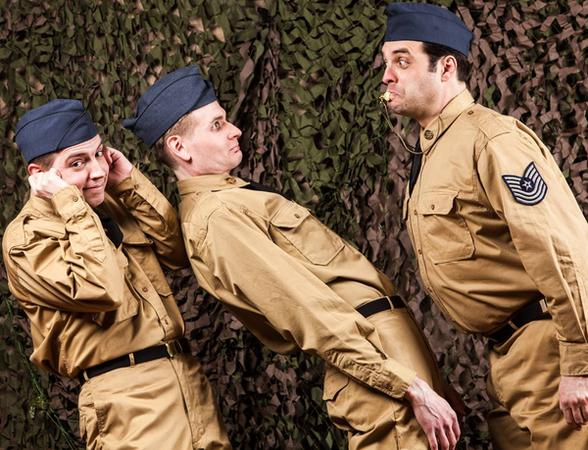 Hale Centre Theatre serves up classic comedy in NO TIME FOR SERGEANTS