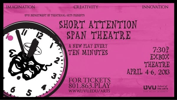 SHORT ATTENTION SPAN THEATRE has some diamonds in the rough