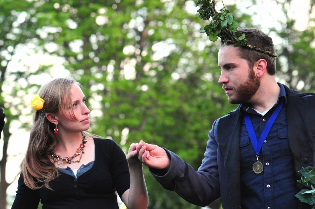 Outdoor production of A MIDSUMMER NIGHT'S DREAM is a pleasure