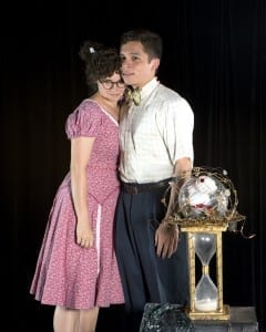 Meg (Lindsay Clark) and Charles Wallace Murry (Adam White).
