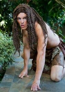 Brian Smith as Tarzan.