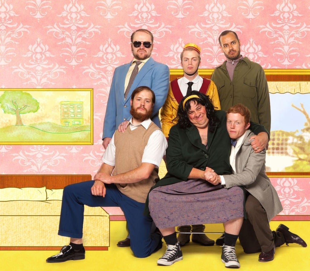 Benjamin James Harrison (Stan), Jason Sullivan (Roger), Jake Ben Suazo (Arlene), Jack Kyle Oram (Wally), Robbie X. Pierce (Babu), and James McKinney (Georgie).