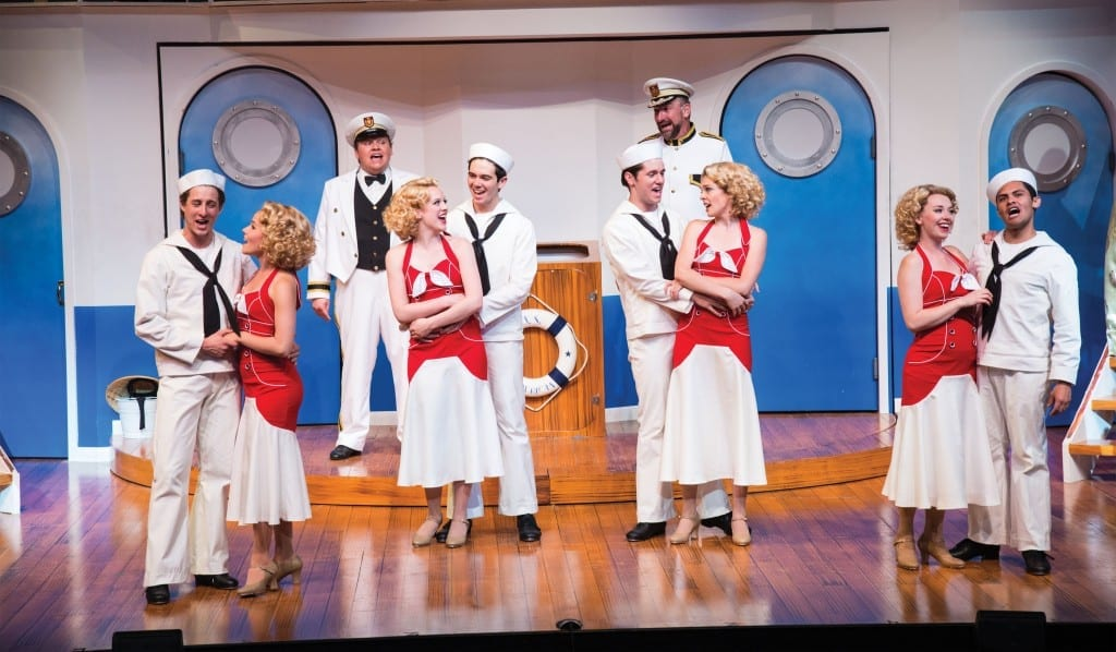 A scene from the Utah Shakespeare Festival's 2013 production of Anything Goes. (Photo by Karl Hugh. Copyright Utah Shakespeare Festival 2013.)