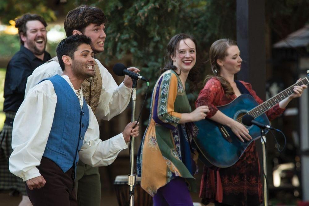 Scenes from the Utah Shakespeare Festival GREENSHOW