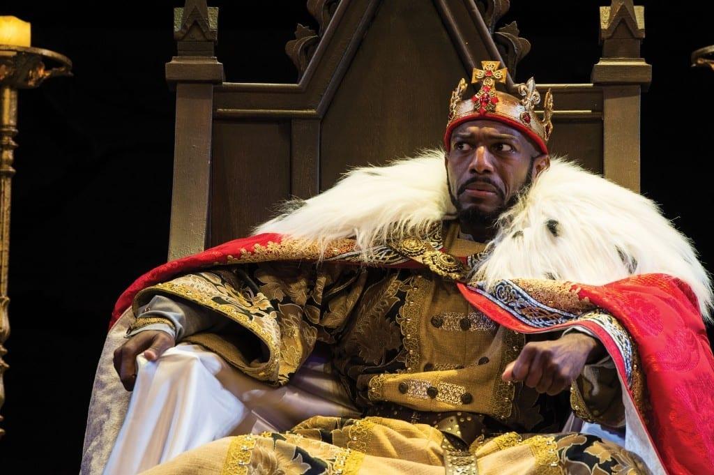 Shakespeare Festival portrays a realistic politician in KING JOHN
