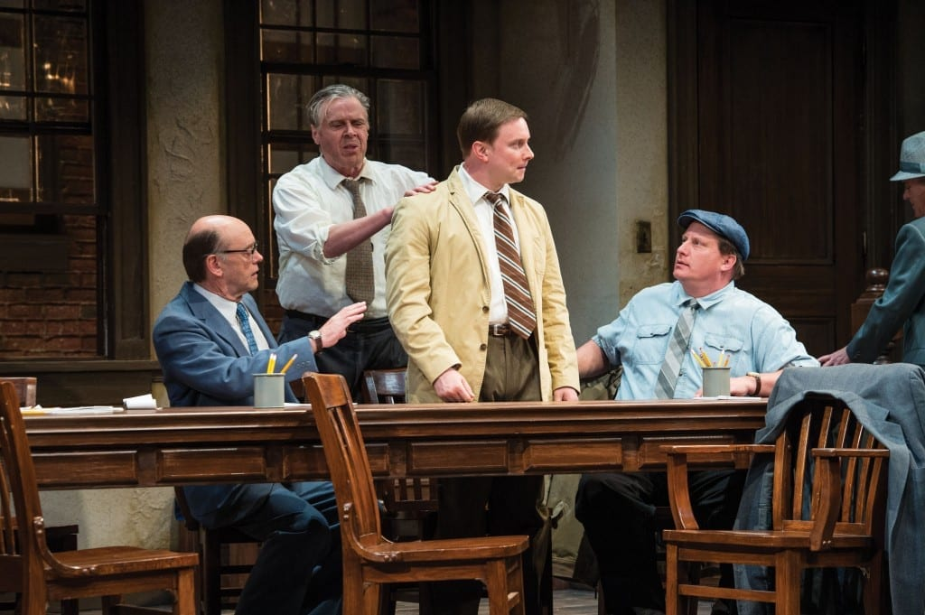 No deliberation necessary: TWELVE ANGRY MEN is a superb show