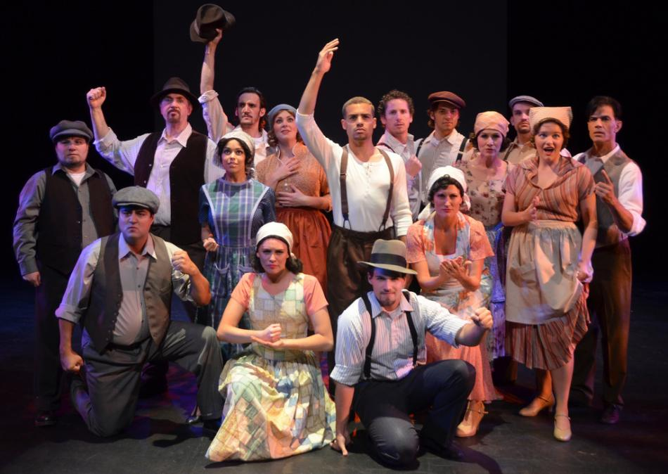 Egyptian Theatre's EVITA falters technically, but features strong performances