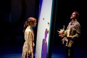 Diane Mair as Deborah and Alex Podulke as Jake. Photo by Seth Freeman.