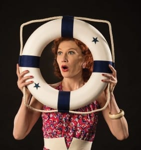 Melinda Parrett as Reno Sweeney in the Utah Shakespeare Festival's 2013 production of Anything Goes. (Photo by Karl Hugh. Copyright Utah Shakespeare Festival 2013.) Show closes August 30, 2013.