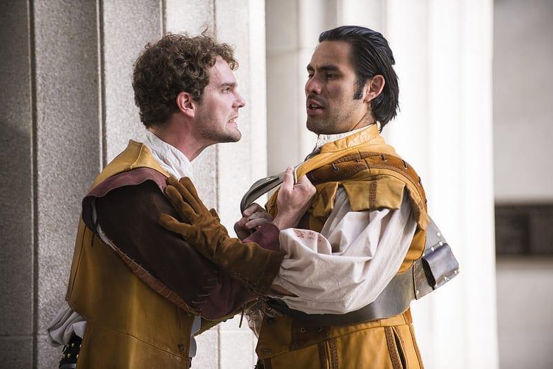 TWO GENTLEMEN OF VERONA is good summer Shakespeare