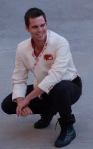 Christian Jones as Radames.