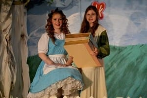 Sasha Nutger as Alice and Camilla Whatcott as Mathilda.