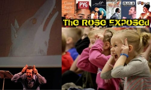 "PETER AND THE WOLF originated at THE ROSE EXPOSED last year and has since toured to 29 elementary schools and more than 12,000 students in Salt Lake and Davis Counties.  The 45-minute program also features Wolfgang Amadeus Mozart's SONATA IN C MAJOR and Aaron Copland's ""Hoe-Down"" from his ballet RODEO. Narrated by Jay Perry with Kary Billings on piano, directed by Christy Summerhays."