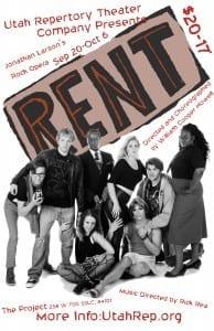 RENT - Utah Repertory Theater Company