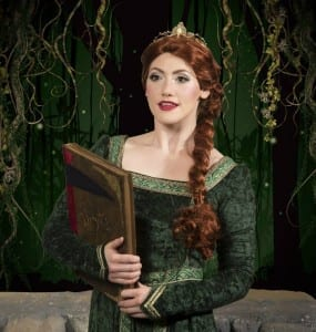 Madeline Weinberger as Princess Fiona. Photo by Mark A. Philbrick.