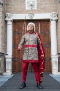 Aaron James as Arthur.