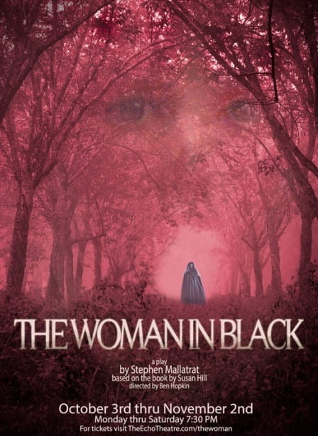 THE WOMAN IN BLACK leaves the audience spooked in the end