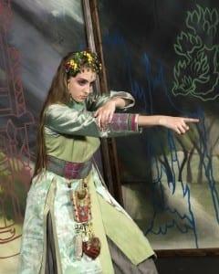 Jennifer Bozeman (the Witch). Photo by Mark A. Philbrick.