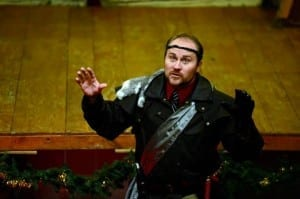 Benjamin James Henderson as King Leontes.