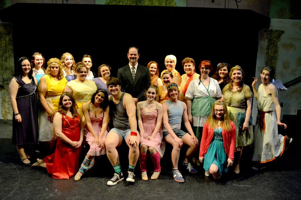 The cast of Xanadu.