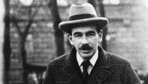 Photograph of economist John Maynard Keynes