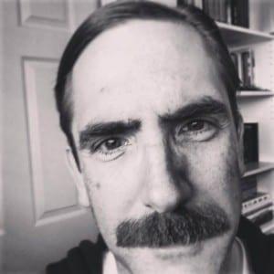 Mark Fossen plays economist John Maynard Keynes in Plan-B Theatre's production of CLEARING BOMBS.