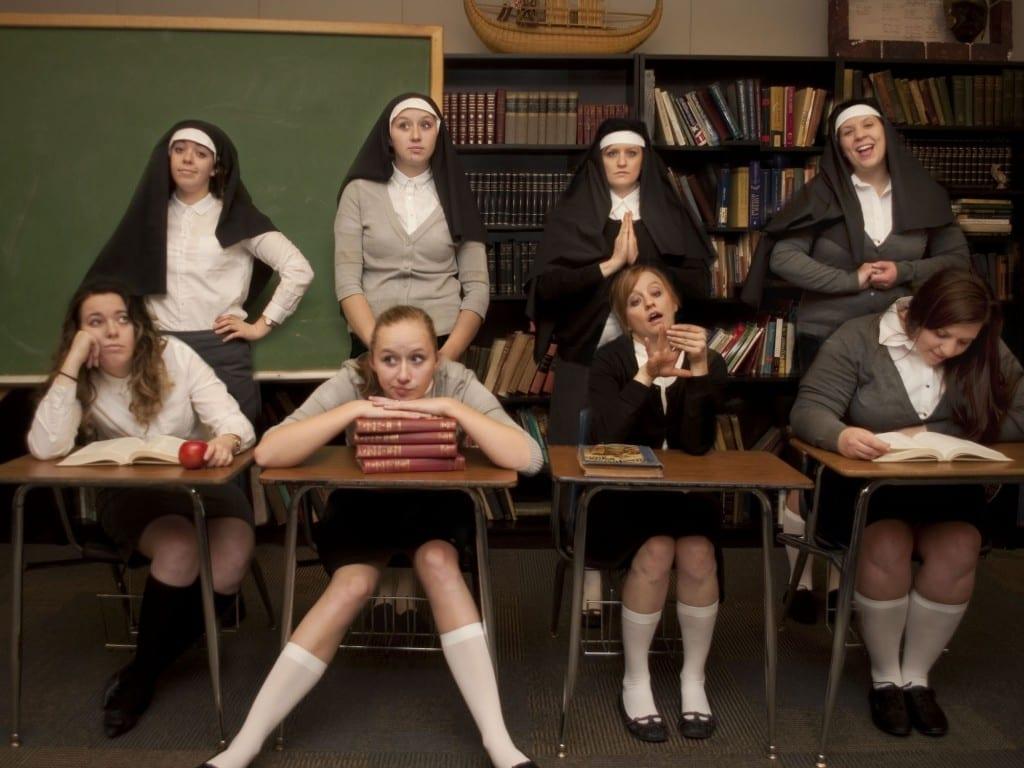 CATHOLIC SCHOOL GIRLS is a sweet tale of growing up