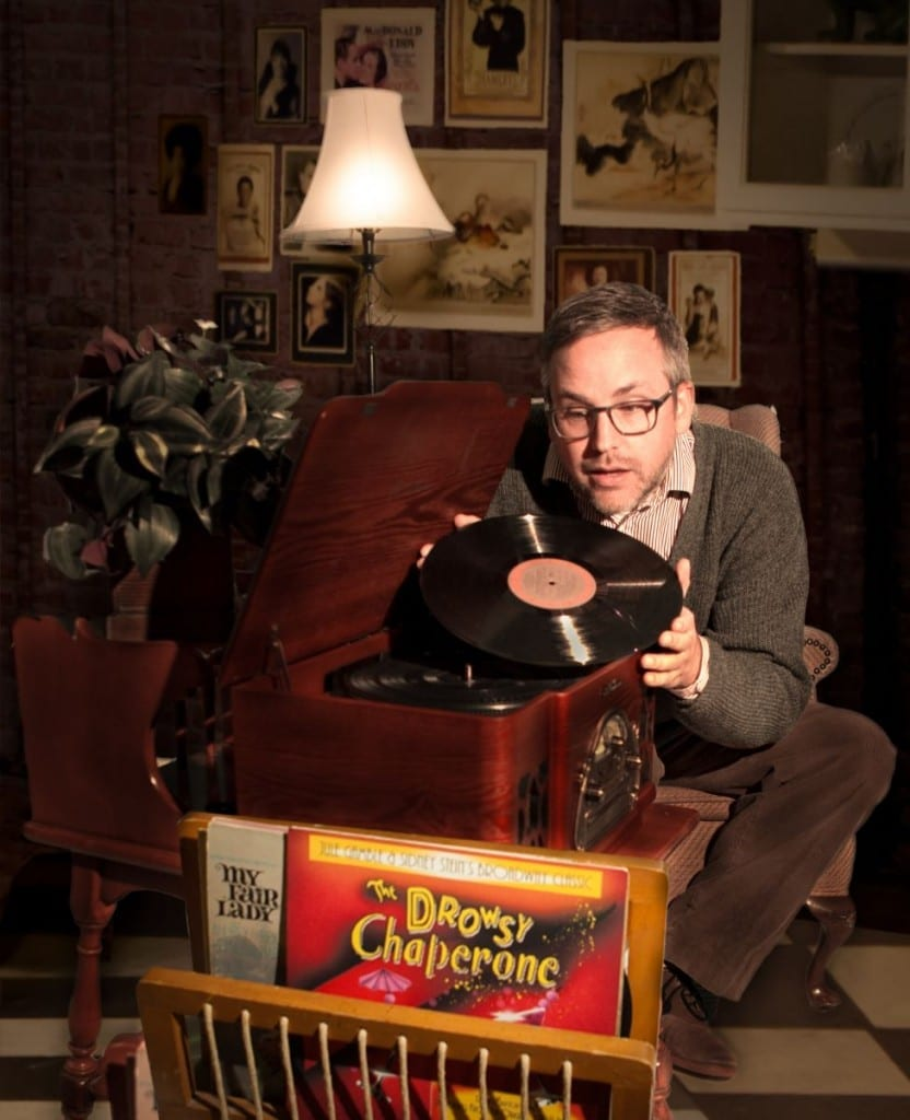 Brett Merritt as the man in chair. Photo by Pete Widtfeldt of CanIGetACopy.com.