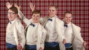 Jonathan Fifield, Daniel Fifield, Scott Sackett, and Logan Bradford.