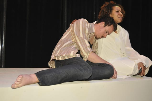 JUDAS ISCARIOT gets his day in court in Wasatch Theatre Company's latest production